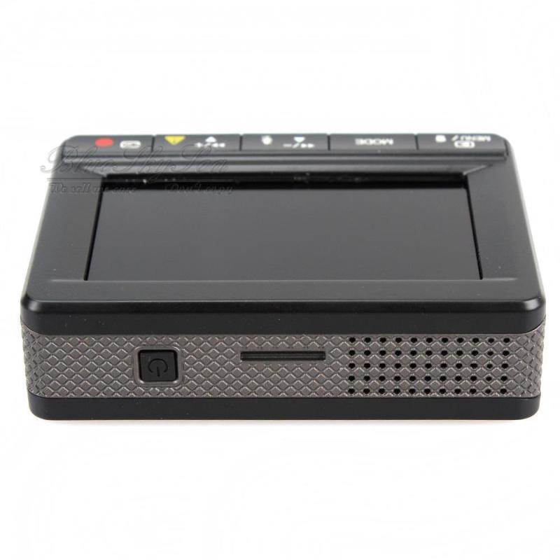 K1S Ambarella A7LA70 Dual Lens Dash Camera Car DVR GPS