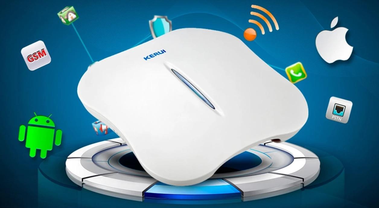 Инструкция по эксплуатации для KERUI W1 WiFi RFID