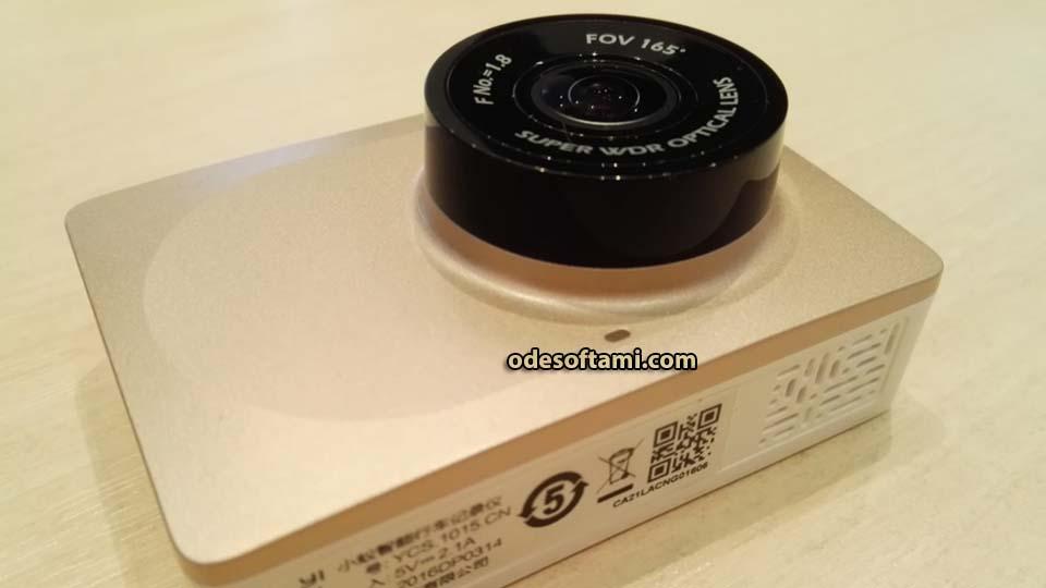Xiaomi Yi 1080P Car WiFi 1920х1080 60 кадров