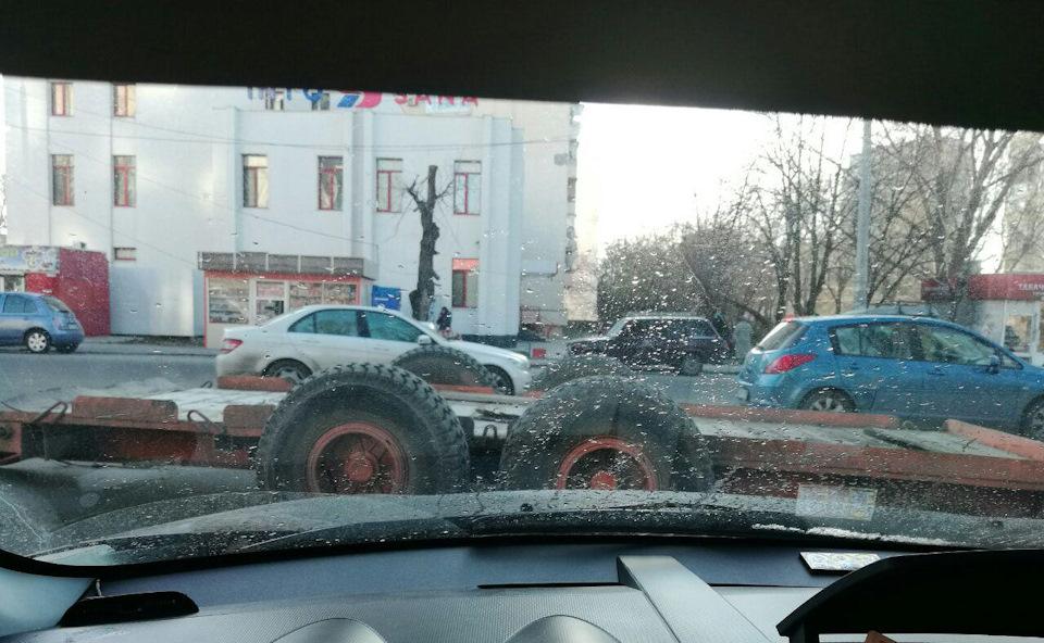 Самое лучшее место припарковать прицеп…
