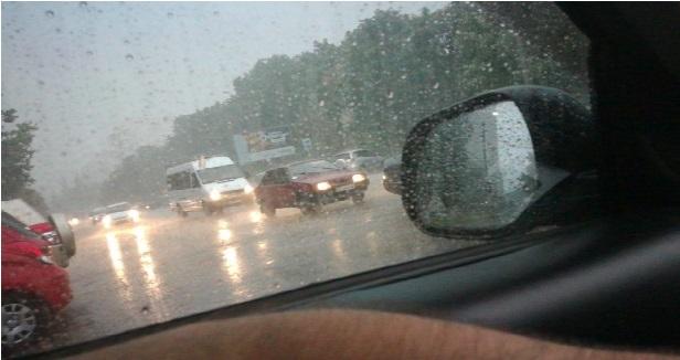 Если кто не знает почему вчера пошел дождь, так это я помыл машину