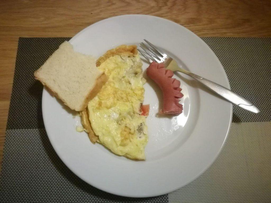 завтрак в отеле подкова город ровно