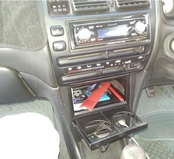 Toyota Corolla 1,3 и подстаканник 55620-12050